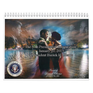 President Barack Obama 2013 Calendar