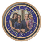 President Barack Obama 2013 Inauguration Plate