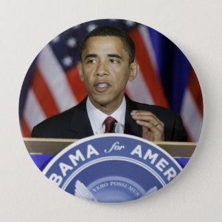 President Barack Obama 4 Inch Round Button