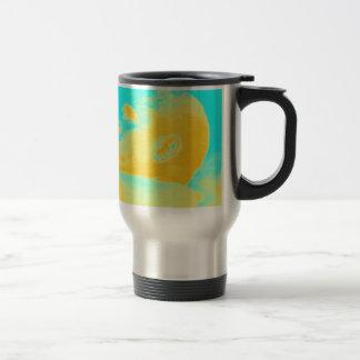 President Barack Obama 4 sketch Travel Mug
