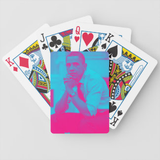 President Barack Obama 8a Bicycle Playing Cards