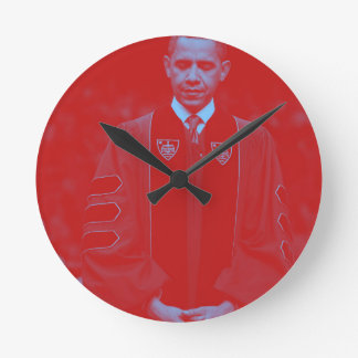 President Barack Obama at Notre Dame University 2. Round Clock