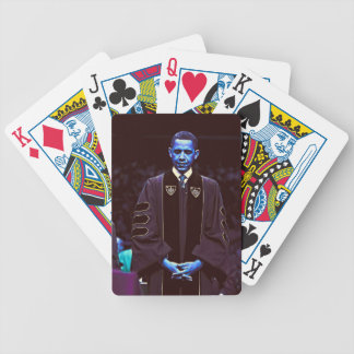 President Barack Obama at Notre Dame University 3. Bicycle Playing Cards