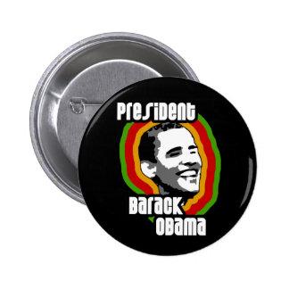 President Barack Obama Buttons & Pins, Black