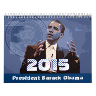 President Barack Obama - Calendar 2015