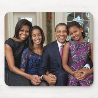 President Barack Obama & Family Mouse Pad