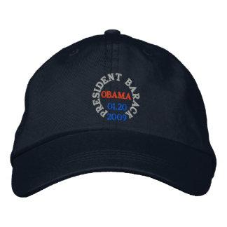 PRESIDENT BARACK OBAMA INAUGURATION HAT BASEBALL CAP