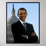President Barack Obama Senator Portrait Posters