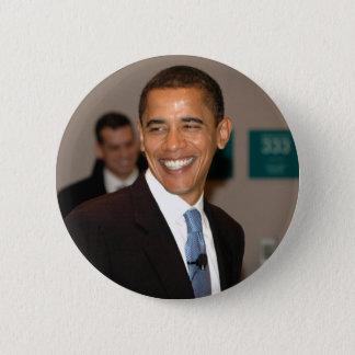 President Barack Obama Smiles 2 Inch Round Button