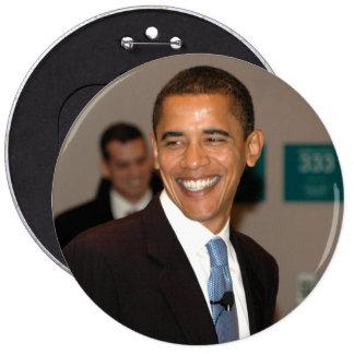 President Barack Obama Smiles Pinback Buttons