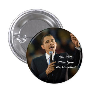 President Barack Obama Support Button