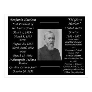 President Benjamin Harrison Postcard