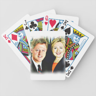 President Bill Clinton & President Hillary Clinton Bicycle Playing Cards