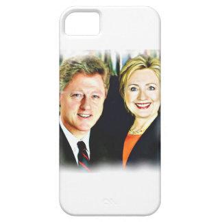 President Bill Clinton & President Hillary Clinton iPhone 5 Cover