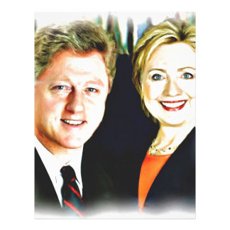 President Bill Clinton & President Hillary Clinton Letterhead