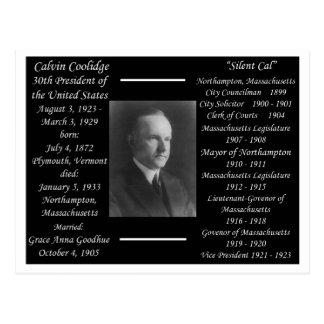 President Calvin Coolidge Postcard