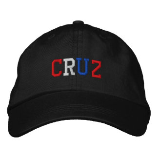 President Cruz 2016 Red White Blue Patriotic Hat Embroidered Hats