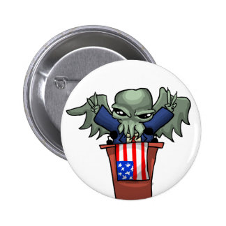 President Cthulhu 2 Inch Round Button