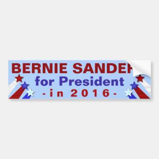 Président de ponceuses de Bernie élection 2016 Autocollant De Voiture