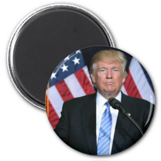 President Donald Trump 2 Inch Round Magnet