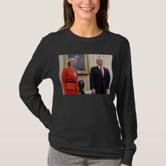 President Donald Trump & British PM Theresa May T-Shirt
