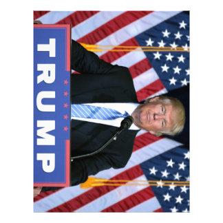President Donald Trump Letterhead