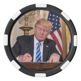 President Donald Trump Poker Chips