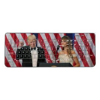 President Donald Trump Wireless Keyboard