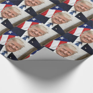 President Donald Trump Wrapping Paper