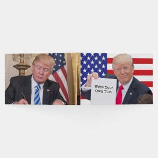 President Donald Trump - Write Your Own Text Guest Book