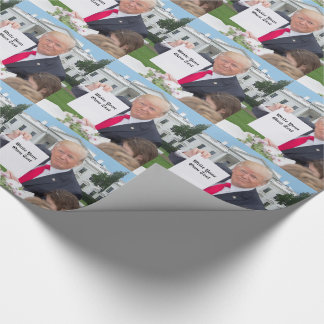 President Donald Trump - Write Your Own Text Wrapping Paper