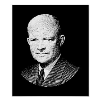 President Dwight Eisenhower Graphic Poster