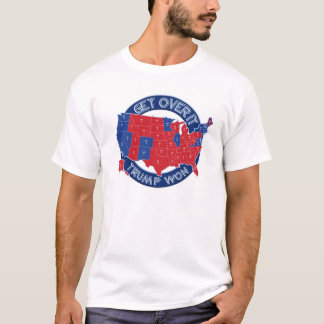 President Elect Trump Won Red White Blue T-Shirt
