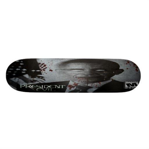 President Evil Plateau De Skateboard