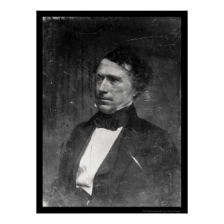 President Franklin Pierce Daguerreotype 1856 Poster