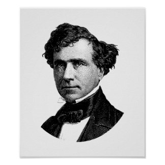 President Franklin Pierce Graphic Poster