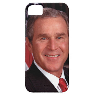 President George W Bush Official Portrait iPhone 5 Case