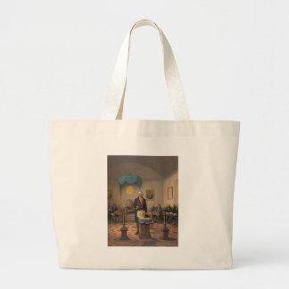 President George Washington as a Master Mason Canvas Bags
