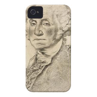 President George Washington iPhone 4 Cases