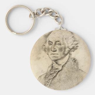 President George Washington Keychain