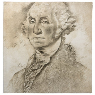 President George Washington Napkin