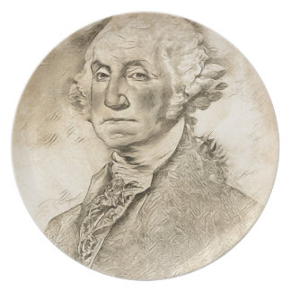 President George Washington Plate