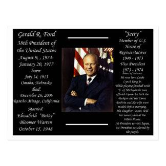 President Gerald Ford Postcard