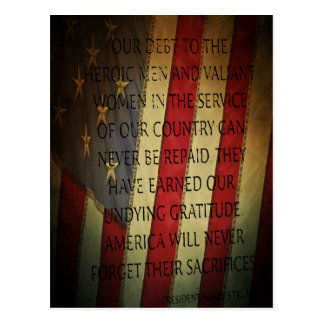 President Harry S. Truman quote Postcard