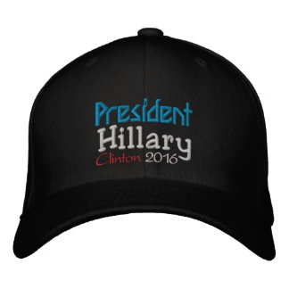 PRESIDENT HILLARY CLINTON 2016 Hats Embroidered Baseball Caps