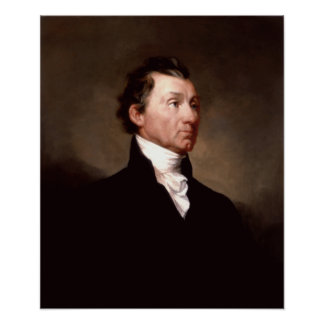 President James Monroe Portrait Poster