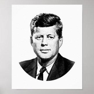 President John F. Kennedy Graphic Poster
