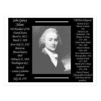 President John Quincy Adams Postcard