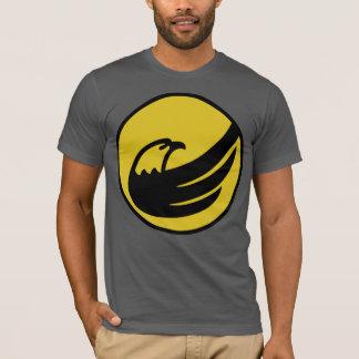 Président libertaire d'Eagle Johnson de torche de T-shirt