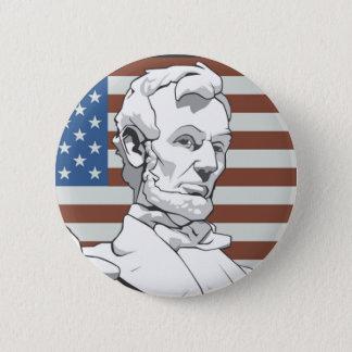 President Lincoln 2 Inch Round Button